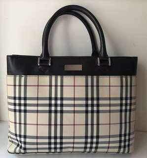 Burberry Top Handle Hand Bag