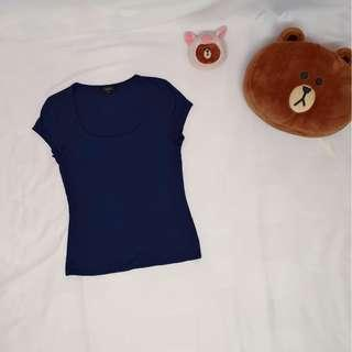 Nichi blue top【RM50 and above free shipping!!】