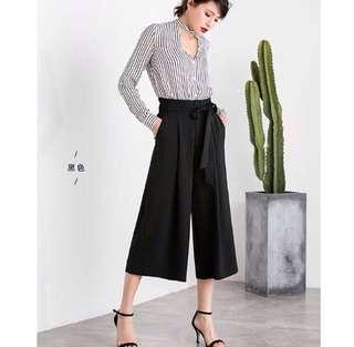 Markdown!Elasticated Culottes