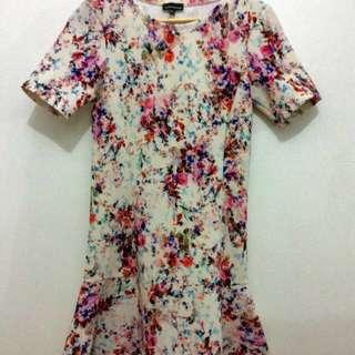 Floral Ware House Dress