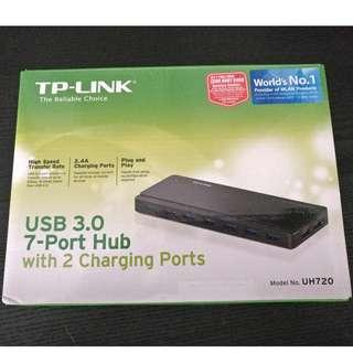 TP-Link UH720 USB 3.0 7-Port Hub with 2 Charging Ports