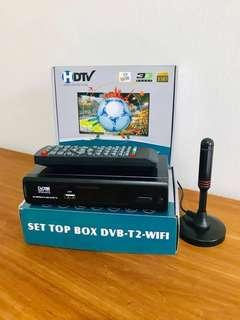 (Full set) DVB T2 Set Top Box  高清电视数码机