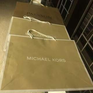 Michael Kors paperbag Large)