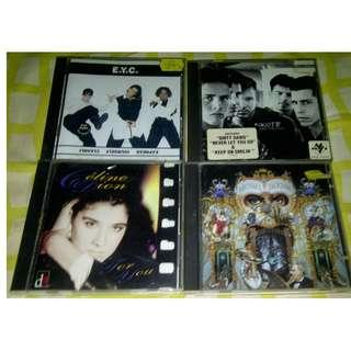 CD Celine Dion, EYC dan NKOTB