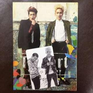 [WTS] [WANT TO SELL] TOHEART <INFINITE WOOHYUN AND SHINee KEY> FIRST MINI ALBUM