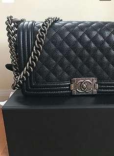 Chanel Medium LeBoy Caviar