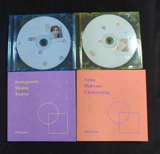 Twice twicetagram likey album tzuyu jihyo cd