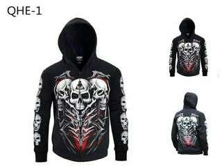 3D Hooded Jackets