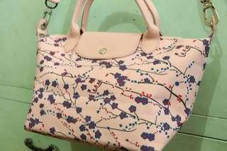 Pink Floral Sling Bag