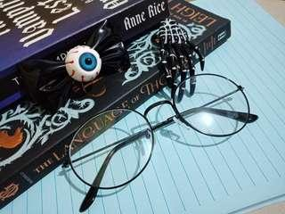 Harajuku / Gothic Accessories clips and eyeglass