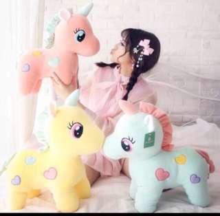 Instock! Brand New  Unicorn Plush Toys