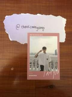 Stray Kids I Am You Seungmin Official Photocard