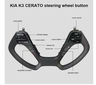 Kia k3 steering Audio Control Switch