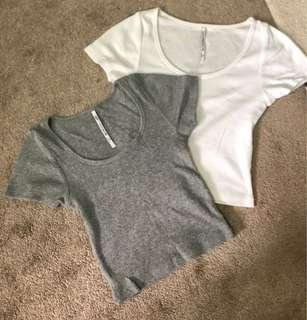 Glassons Basic Crop Tops