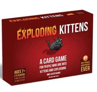 Exploding Kittens Original Edition with Sleeves