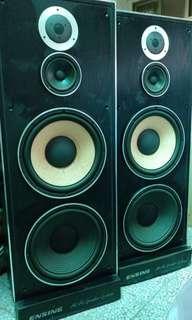 "🚚 Ensing sound 12"" speakers 燕聲三音路12吋大喇叭 卡拉OK 喇叭"