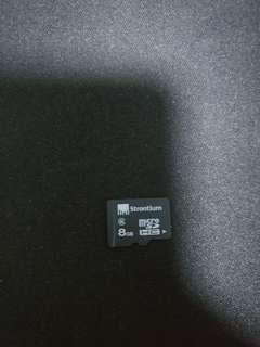 Strontium 8GB MicroSD Card