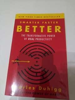 SMARTER FASTER BETTER by Charles Duhigg