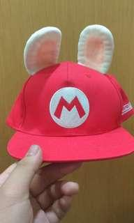🚚 電玩展ubisoft 瑪莉歐@瘋狂兔子 聯名帽子