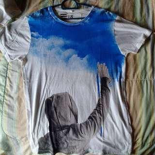 Blue Spray Tee's