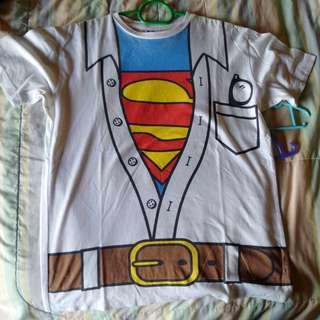 Superman Costume Tee (Halloween Tee)
