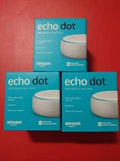 Amazon Echo Dot 3rd Gen - Echo Dot 3 - Echo Dot 3rd Generation