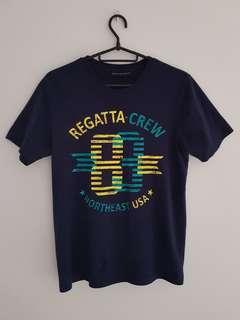 Regatta Navy Graphic Tee