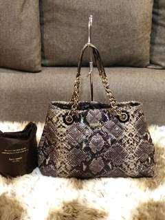 Authentic Kate Spade Snake Skin Print With Dustbag