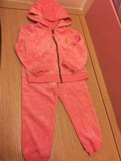 (包順豐站) Mothercare 粉紅兔套裝 (冬天料)