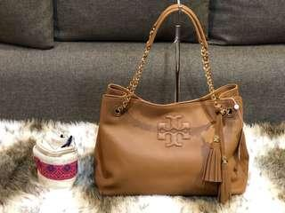 Authentic Tory Burch Tote Bag With Tag and Dustbag