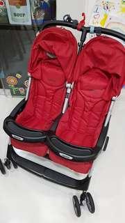 Peg Perego Aria Twin baby stroller