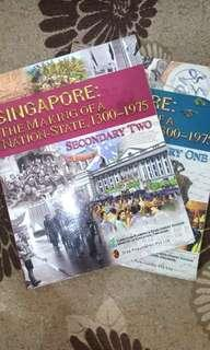 Lower Secondary History Textbooks