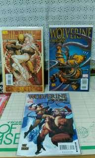 2006 Marvel wolverine origins #5,#6and  variant #8. Price for one comic.