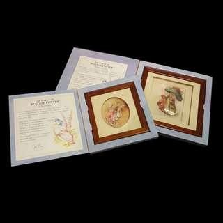 The world of Beatrix Potter in Decoupage (Set)
