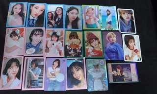 Twice nayeon jeongyeon momo what is love dance the night away twicetagram signal extra cards to sell