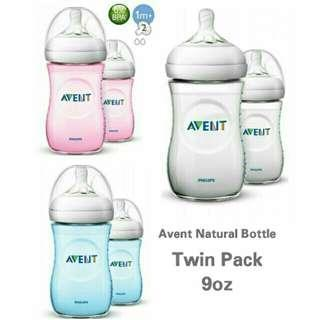 Avent Natural 9oz Twinpack