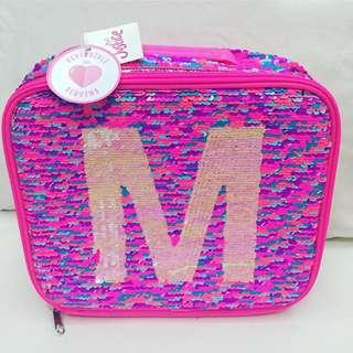 Justice Reversible Sequins Lunch Tote