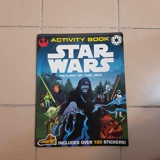 Star Wars: Return of the Jedi Activity Book