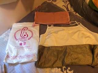 孕婦防輻射背心及圍巾