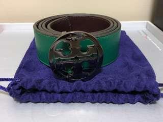 Tory Burch Leather Belt - Green