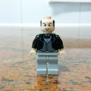 LEGO 7783 Batman 管家 Alfred Pennyworth minifig