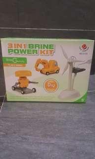 Brine power Salt water diy car kit