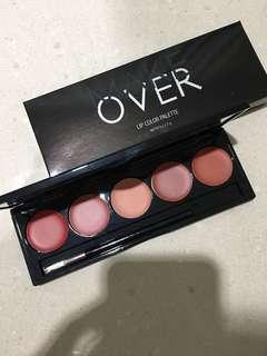Makeover Lip Color Palette Retro Red