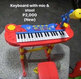 Keyboard piano for kids