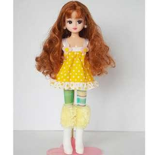 Licca doll curly beauty
