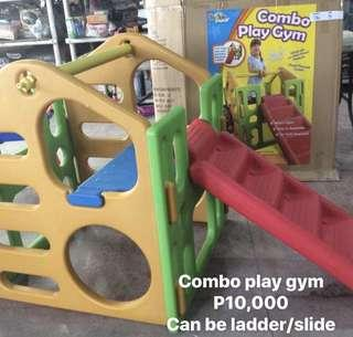 Baby play gym slide heavy duty