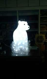 天生拍賣_LED 裝飾北極熊