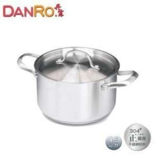 🚚 (全新) 丹露 DANRO 五層複底德式燉煮鍋(S304-1545L)