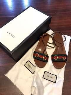 Original Gucci flat sandals
