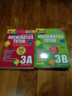 Preloved Casco Mathematics tutor sec 3A 3B
